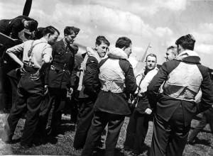 610 Squadron Pilots at Hawkinge1940