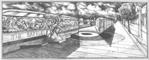 Frieze sketch